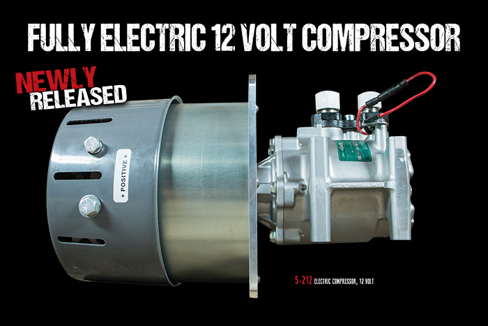 12 Volt Automotive Electric Compressor Restomod Air