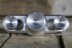 triq with concave knobs satin straight