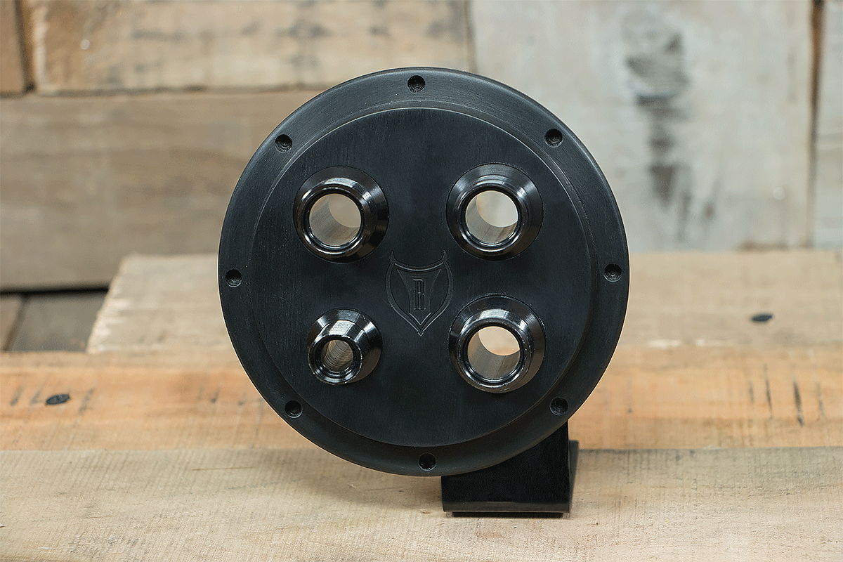 products RESTOMOD AIR BULKHEAD SYNISTER ROUND REVOLVER FRONT