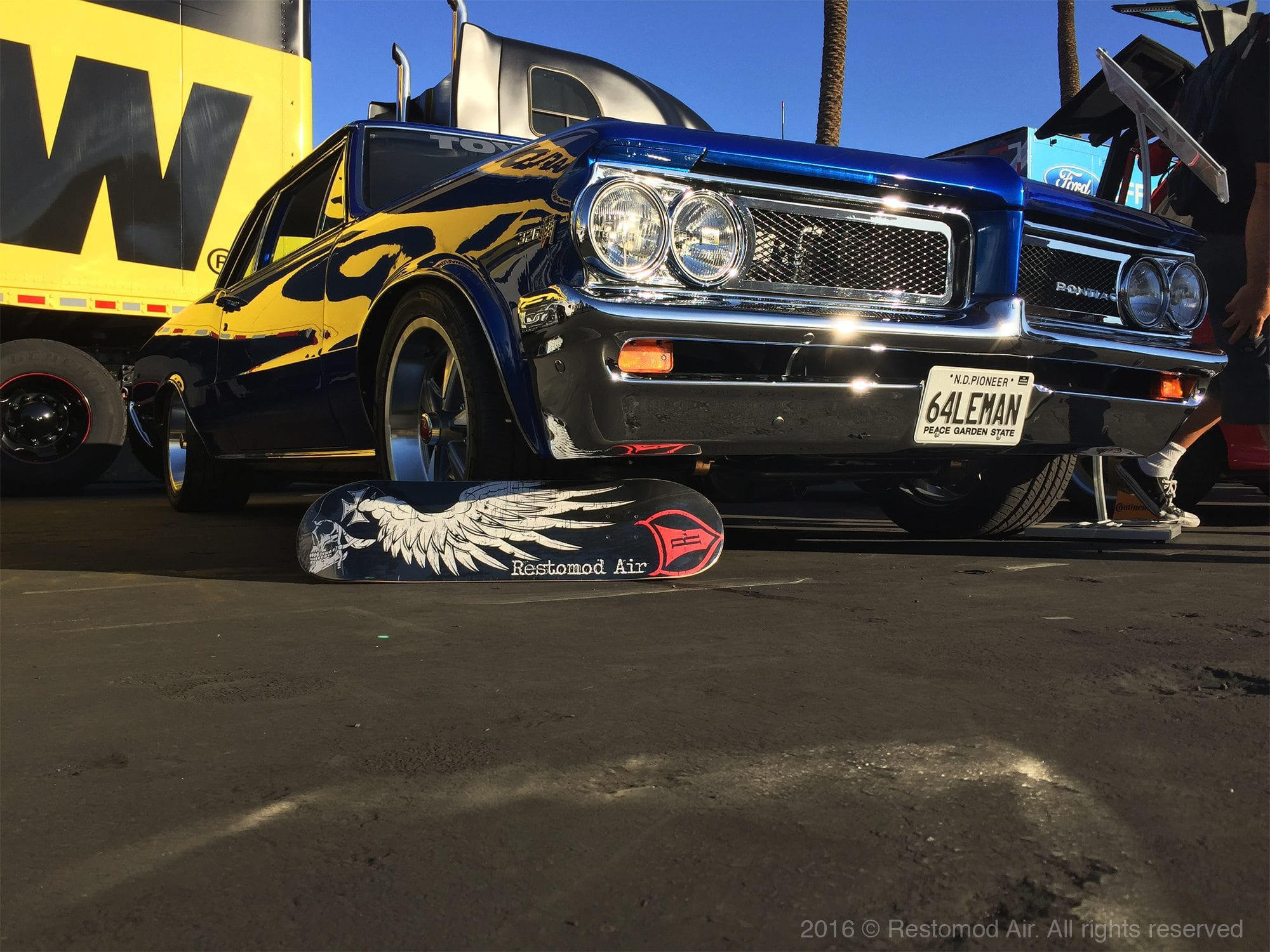 Bill Dunn One Stop Shop Installs Restomod Air