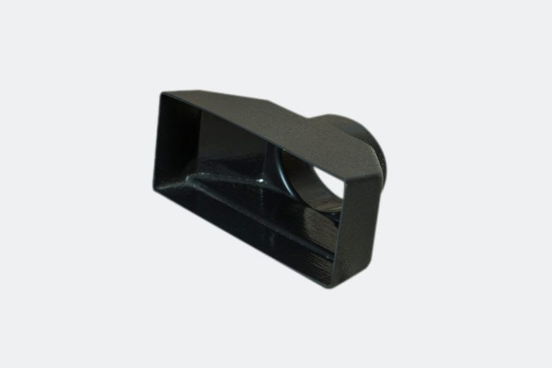 products 0036 8 Rectangular Vent Adaptor 6 14 x 2 12