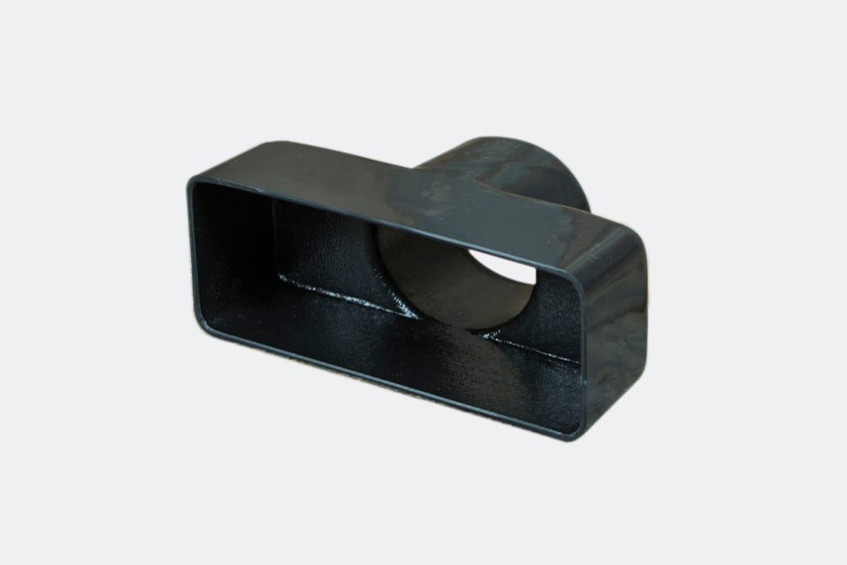 products 0043 10B Rectangular Vent Adaptor 4 38 x 2