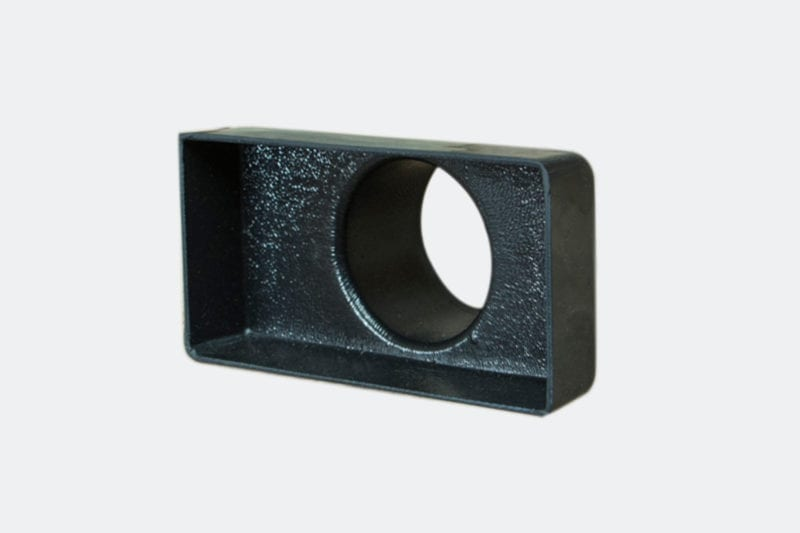 products 0050 5A Rectangular Vent Adaptor 4 34 x 2 12