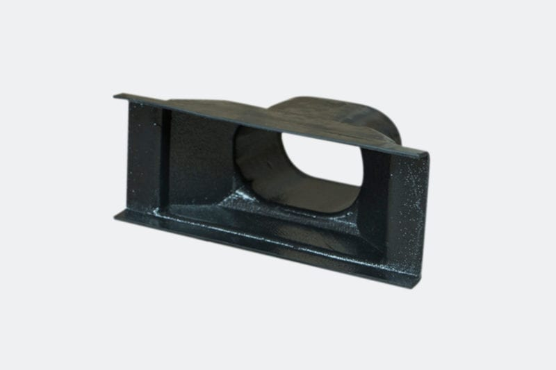 products 0069 Rectangular Vent Adaptor 5 38 x 2