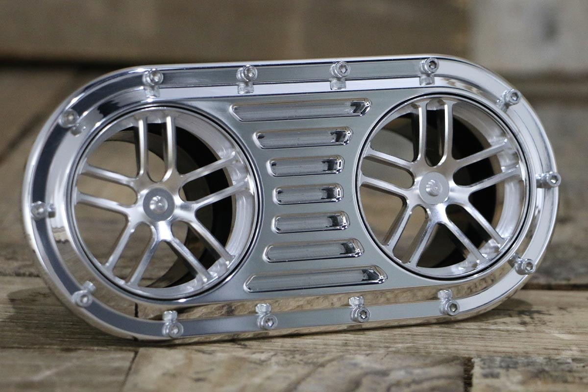 DIABLO DUAL LUCKY 7 POLISHED AC VENT RIGHT