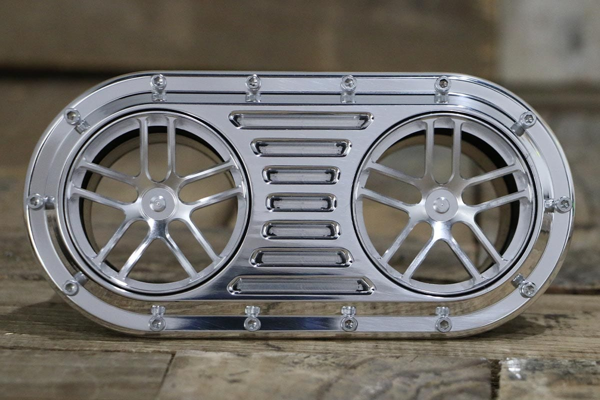DIABLO DUAL LUCKY 7 POLISHED AC VENT STRAIGHT