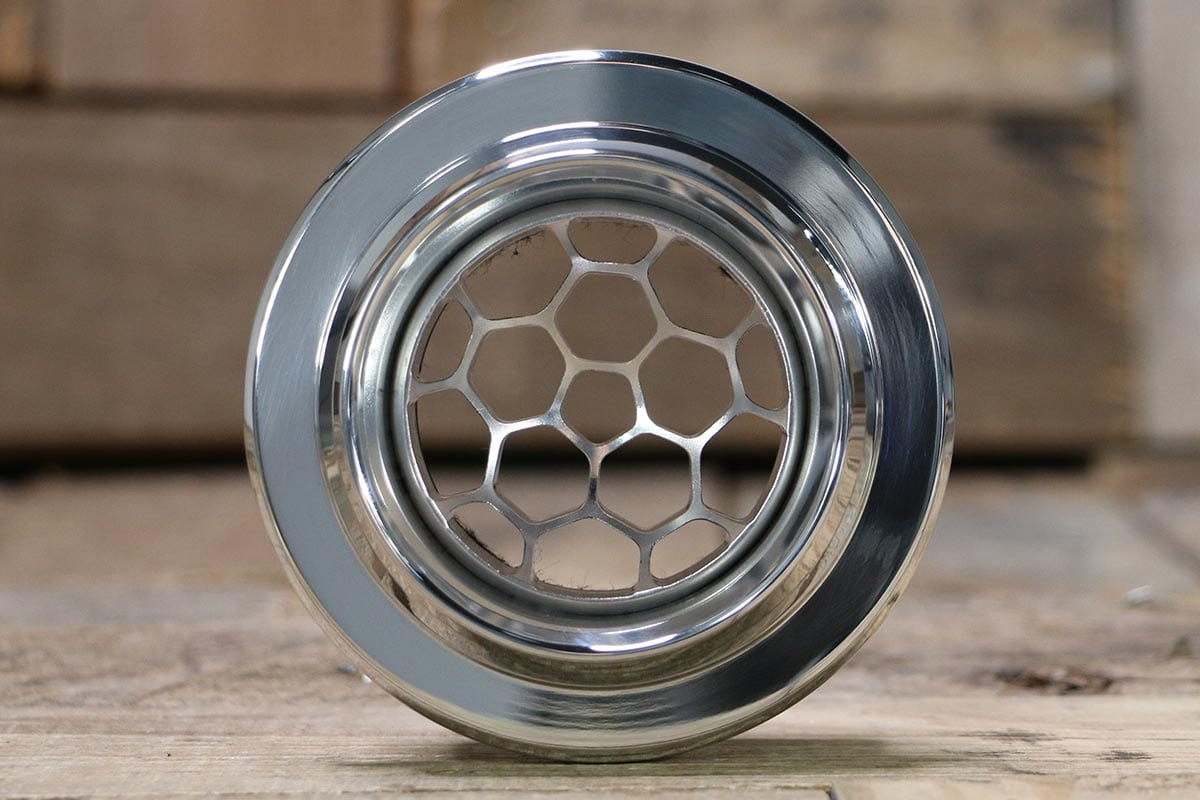 DIABLO SMOOTH HELIX POLISHED AC VENT STRAIGHT IN