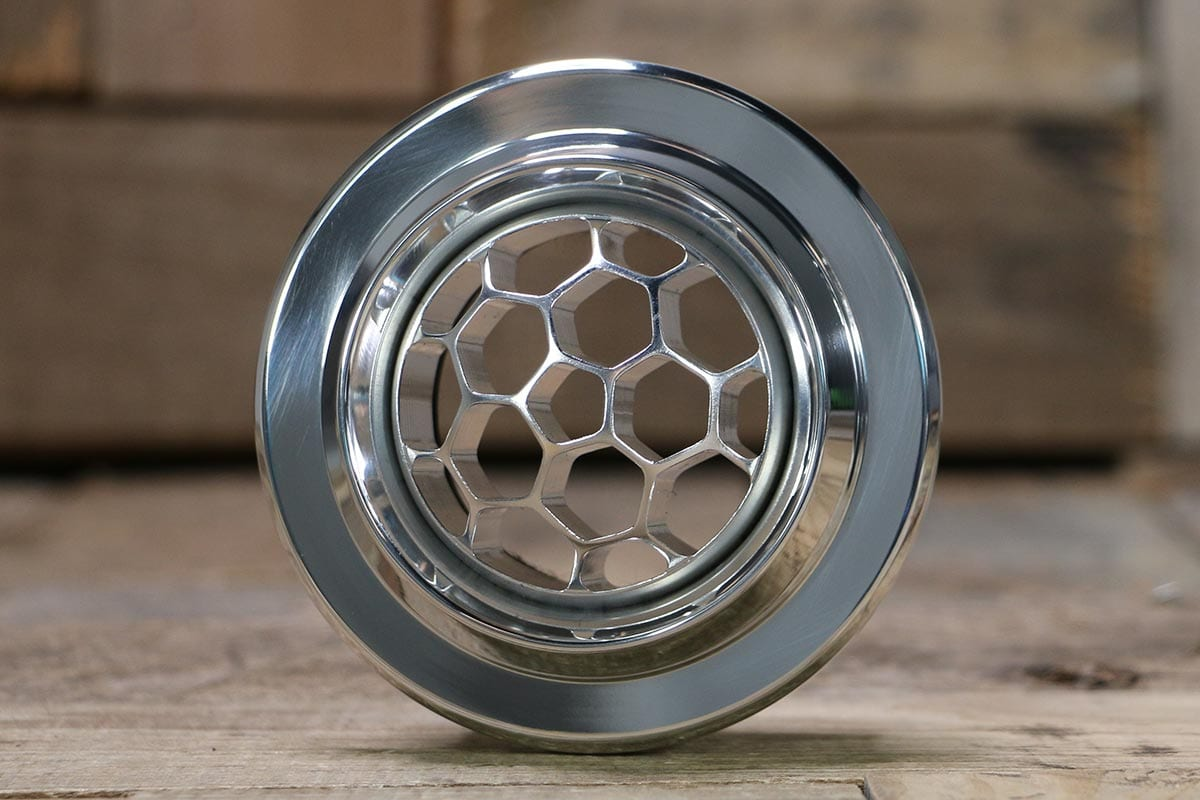 DIABLO SMOOTH HELIX POLISHED AC VENT STRAIGHT OUT