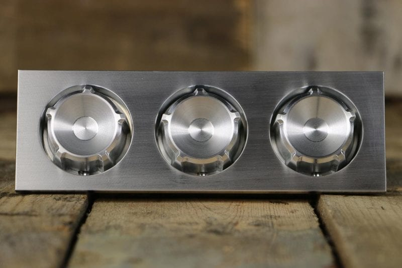 SLIPSTREAM SMOOTH HEX KNOBS STRAIGHT