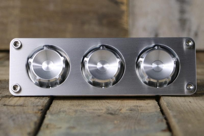SLIPSTREAM XL HEX KNOBS STRAIGHT