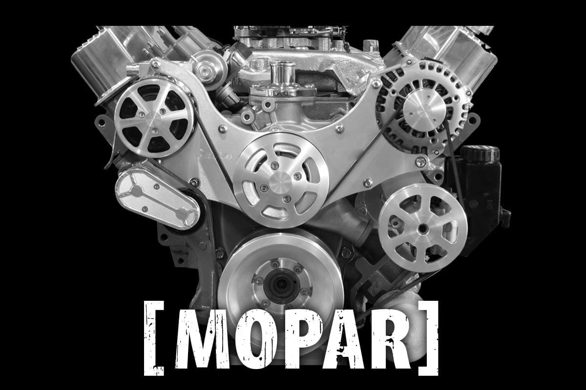 Mopar Serpentine Belt Drive Kits - Restomod Air