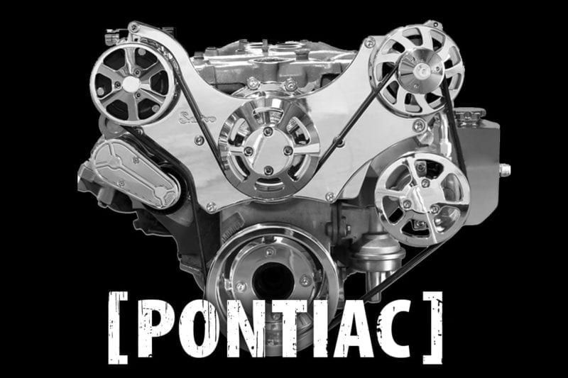 Pontiac Serpentine Belt Drive Kits