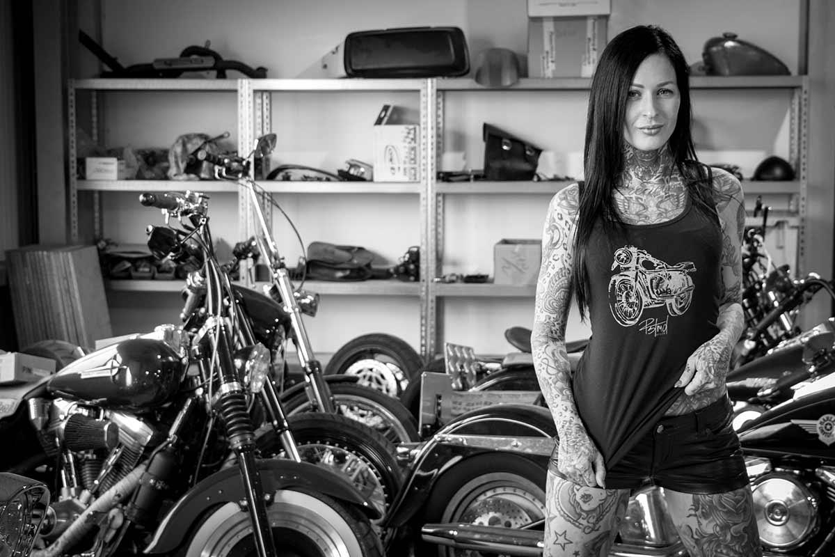 RSTMD FEMKE FATALE FEMALE MOTORCYCLE TANK 3843