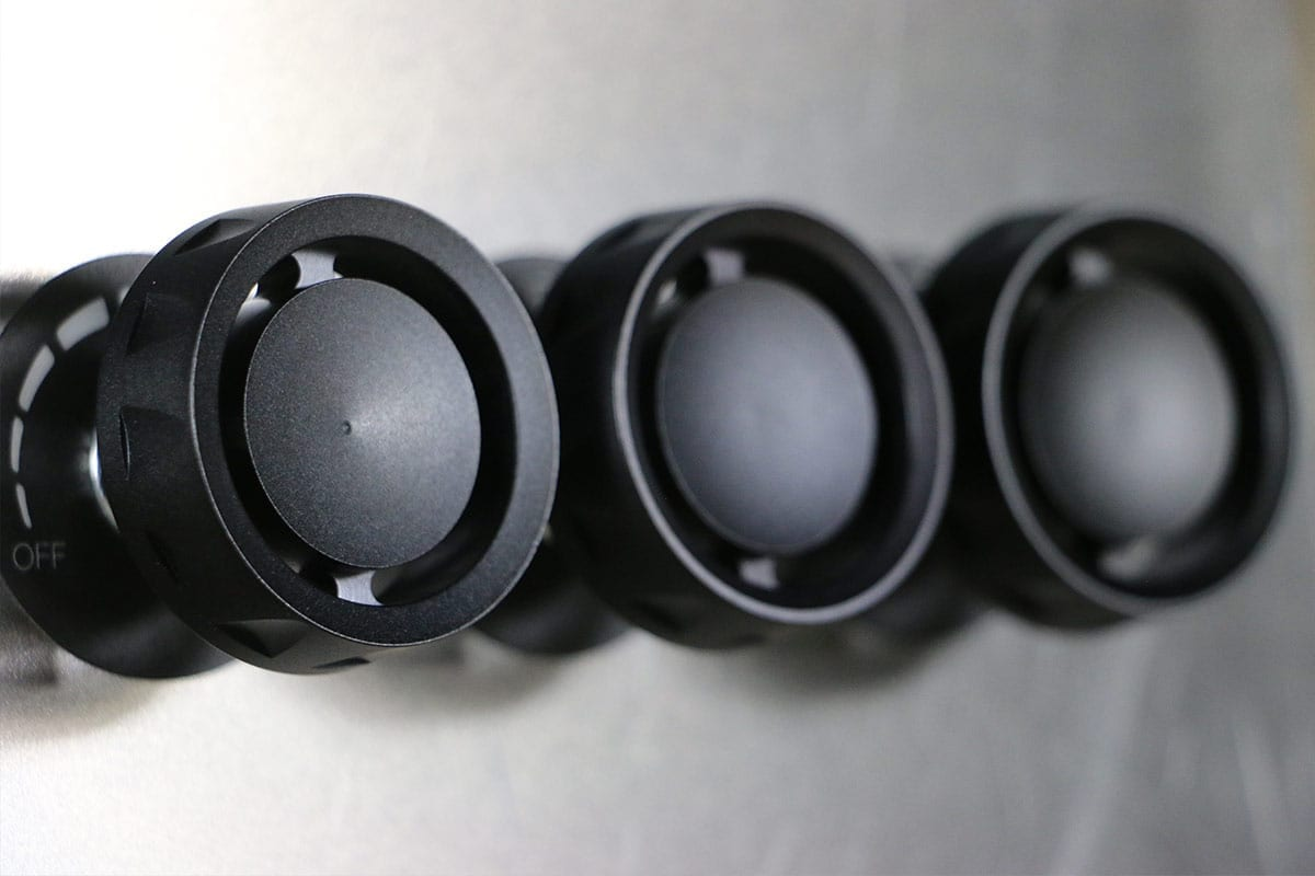 STEALTH REACTOR SINGLE KNOB SYNISTER BLACK RIGHT