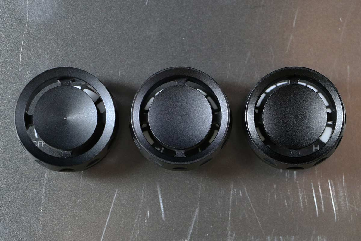 STEALTH REACTOR SINGLE KNOB SYNISTER BLACK STRAIGHT