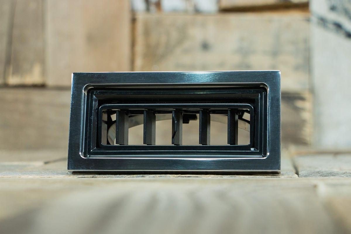 restomod air diablo rectangular polished smooth front