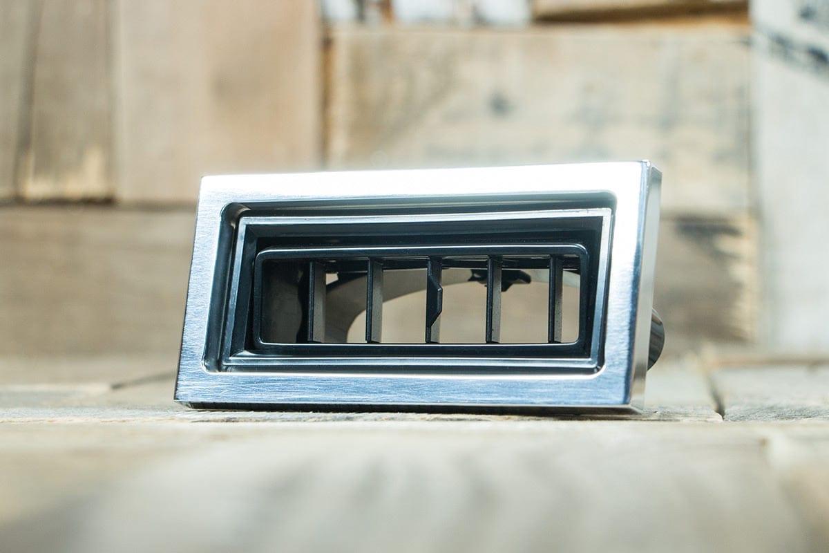 restomod air diablo rectangular polished smooth left