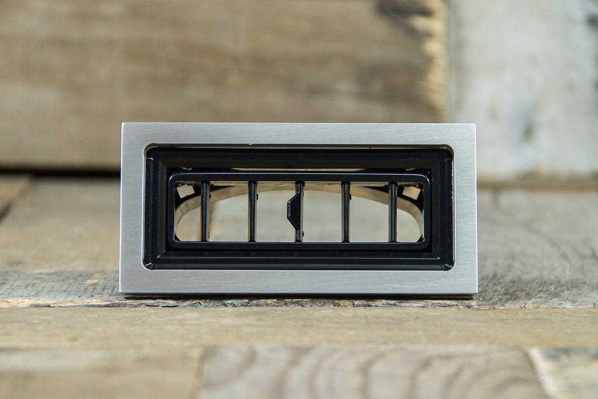 restomod air diablo rectangular satin smooth front
