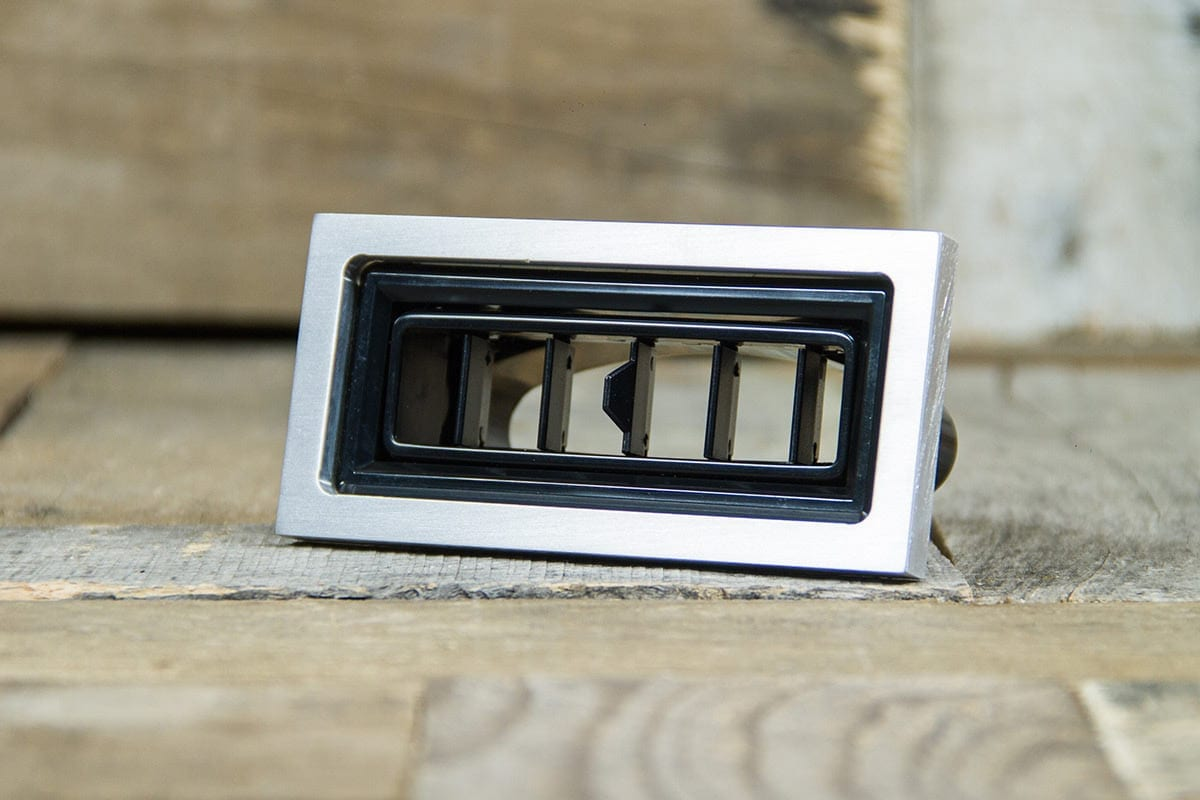 restomod air diablo rectangular satin smooth left