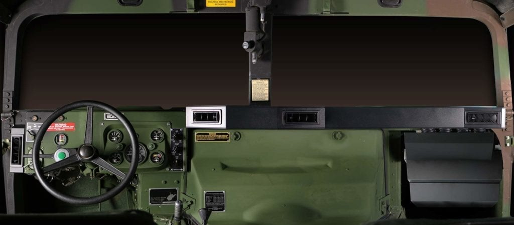 humvee hmmwv full dash with ac system