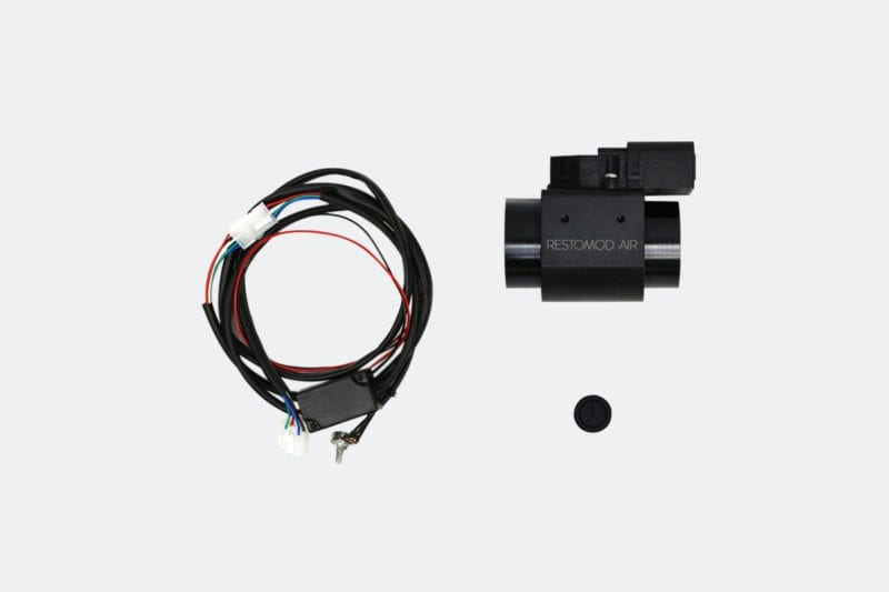 VAC CONTROLLER BLACK COMPLETE