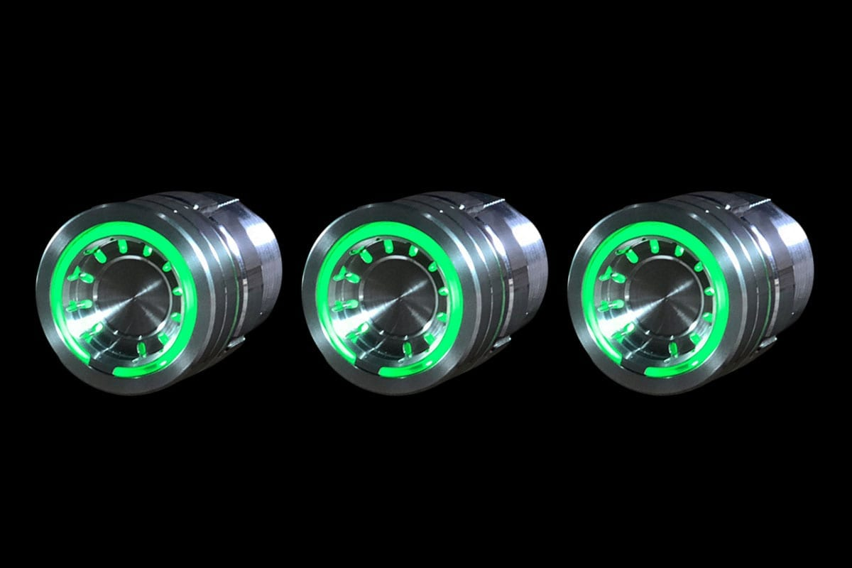 POD GREEN LED BROKEN APART LEFT