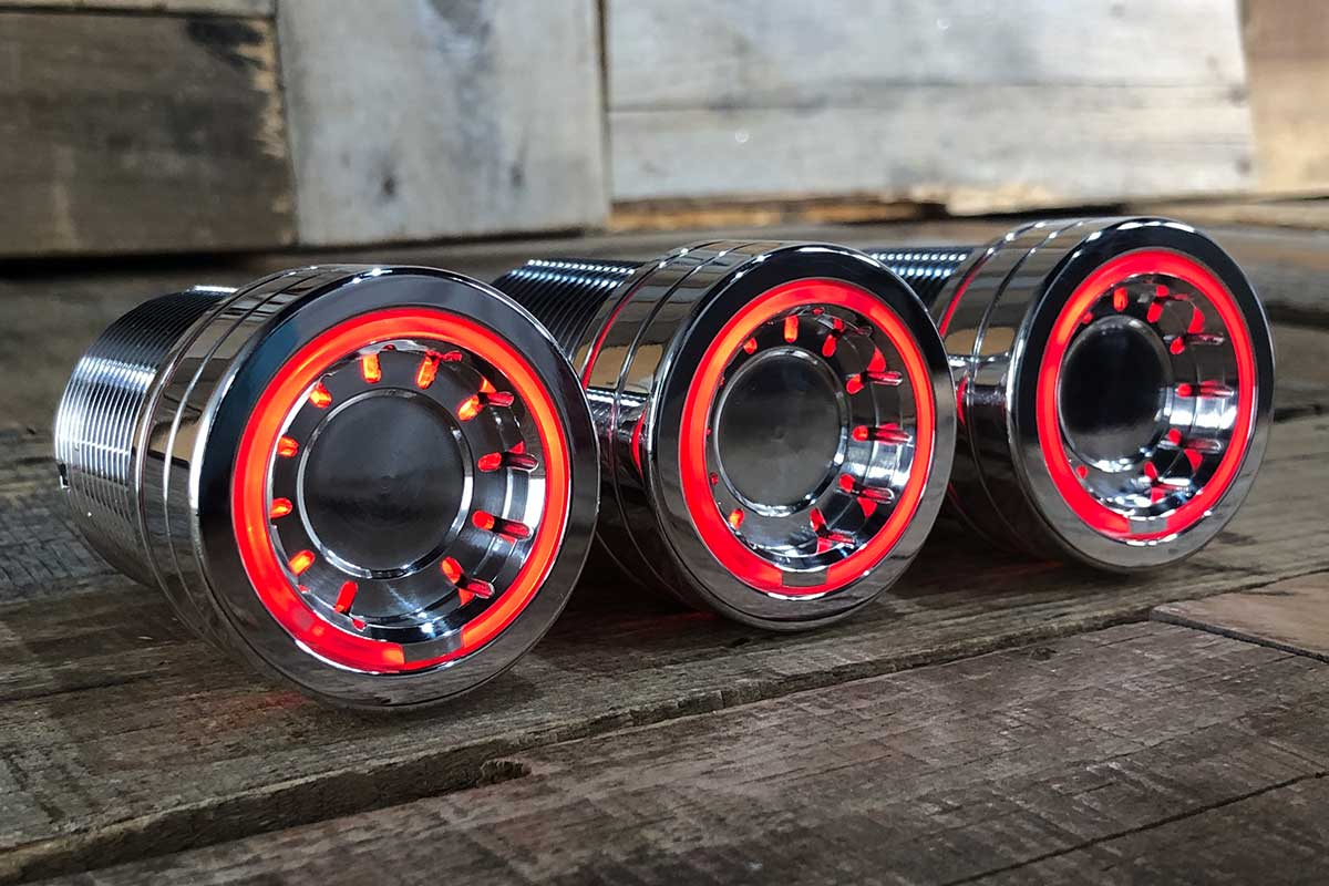 PODS RED LED POLISHED RIGHT