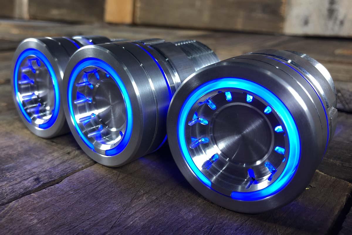 pods blue light satin 3