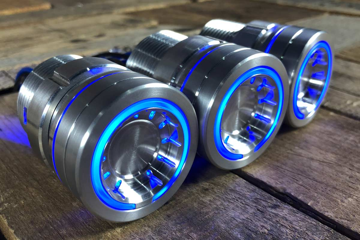 pods blue light satin 4
