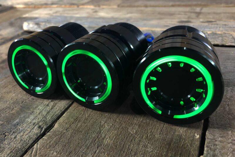 pods green light synister black 5
