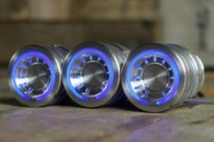 pods satin blue light left