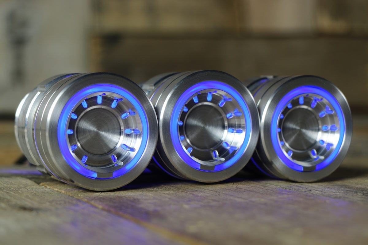 Pods A C Controls With Cyan Led By Restomod Air