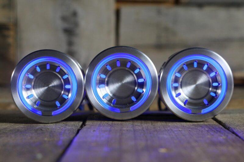 pods satin blue light straight