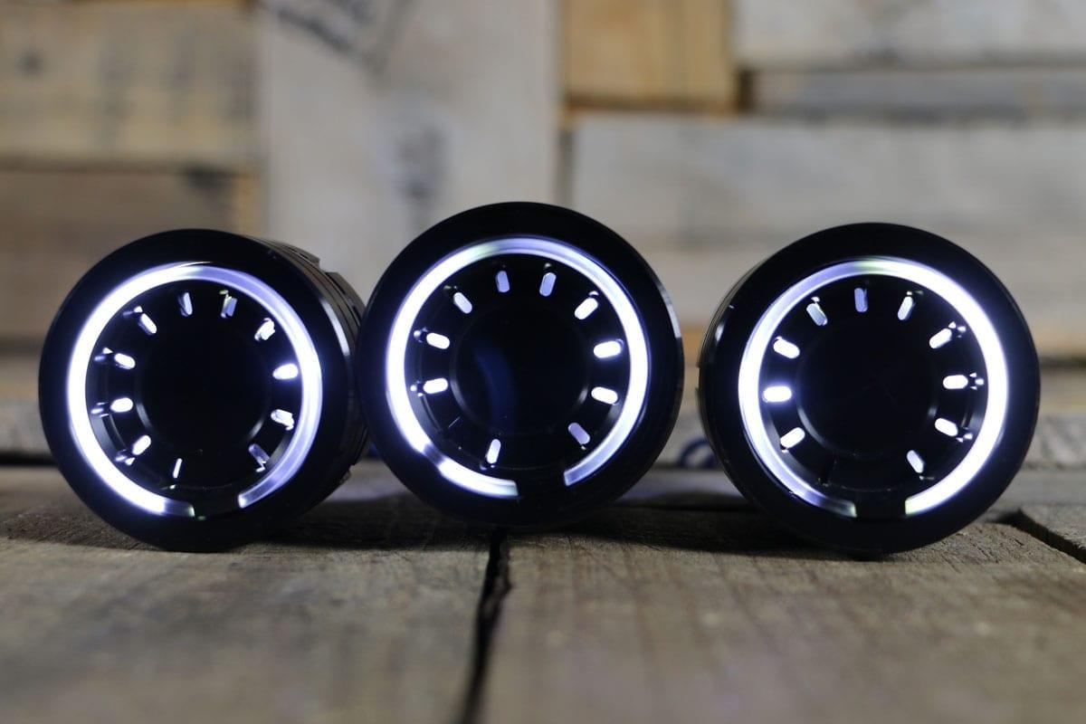 pods white light synister black 6
