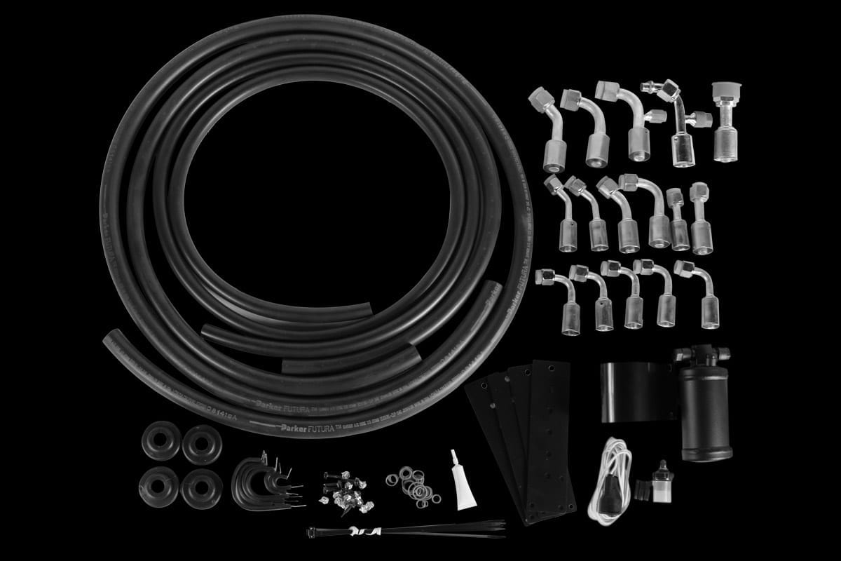 universal hose kit with drier bw