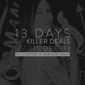 web post for the killer deals