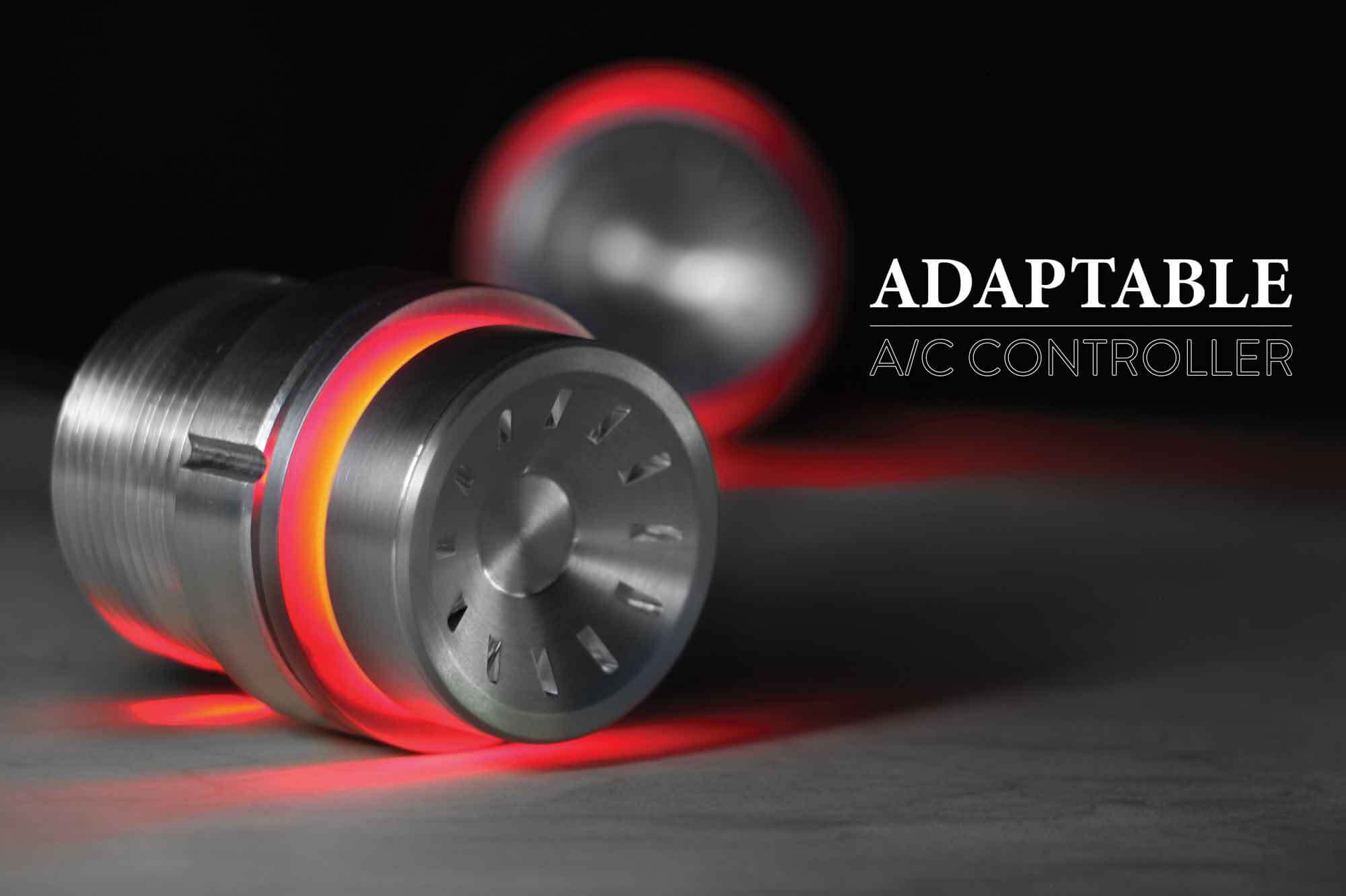 RED BACKLIT PODS WITH QUANTUM KNOB CMYK