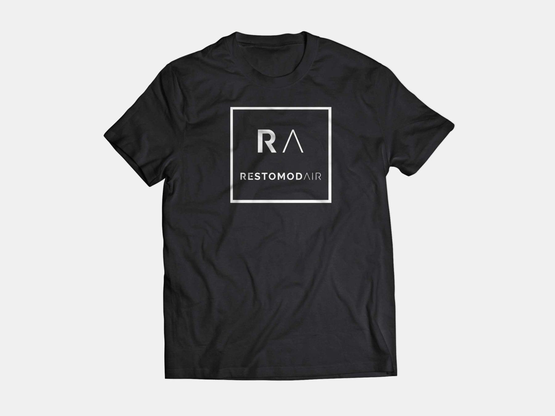 BLACK SHIRT FRONT RA