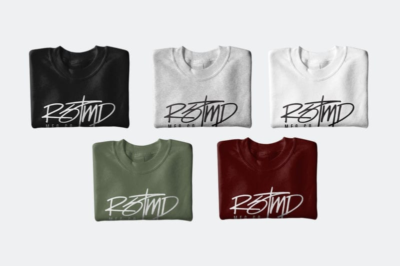 RSTMD HANDWRITTEN CREWNECK ALL COLORS