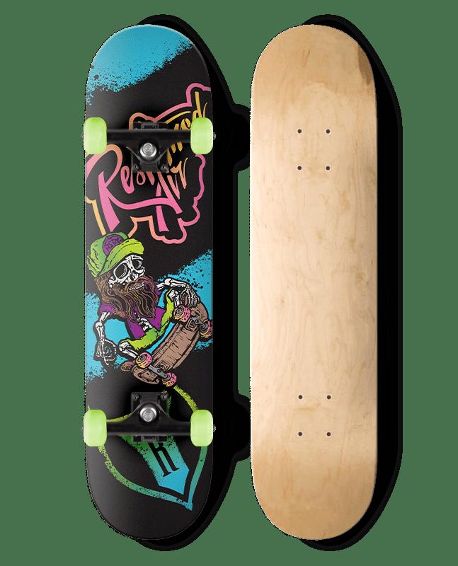 SKATER SKULL SKATEBOARD