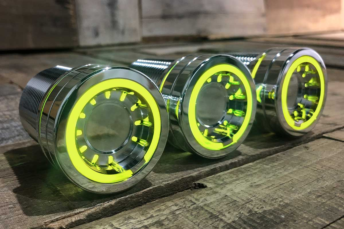 PODS YELLOW LED POLISHED RIGHT 1