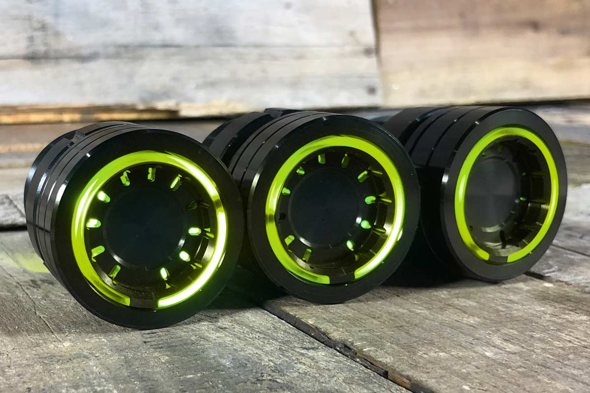 PODS YELLOW LED SYNISTER RIGHT