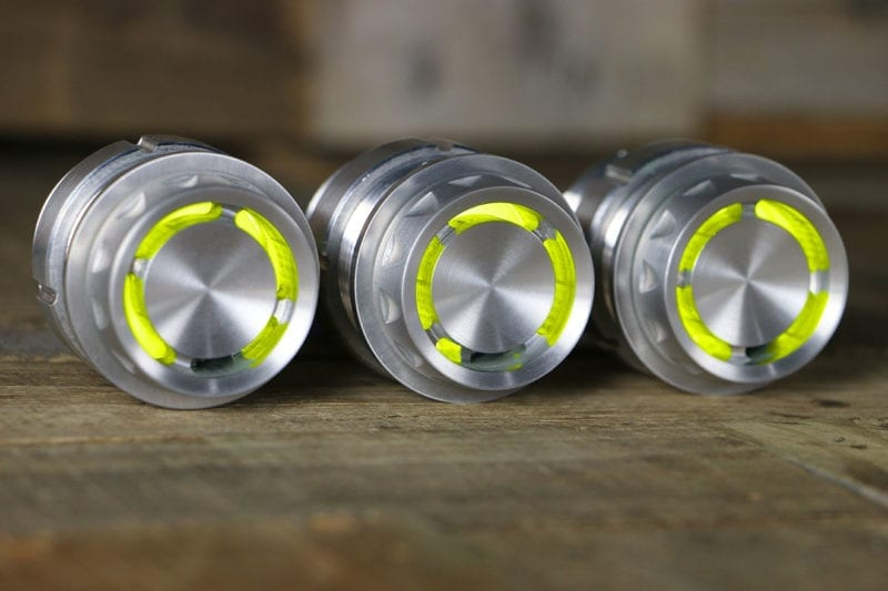 REACTOR PODS YELLOW LED SATIN RIGHT 2