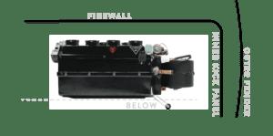 HAYMAKER S DRAIN TUBE FIREWALL