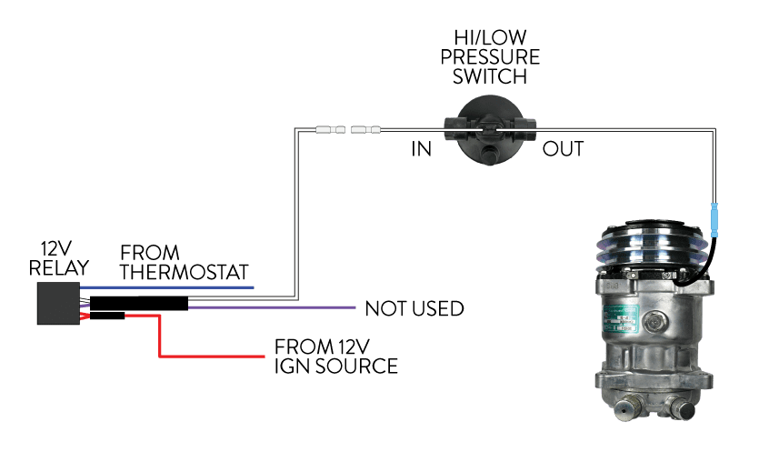 PRESSURE SWITCH WIRING