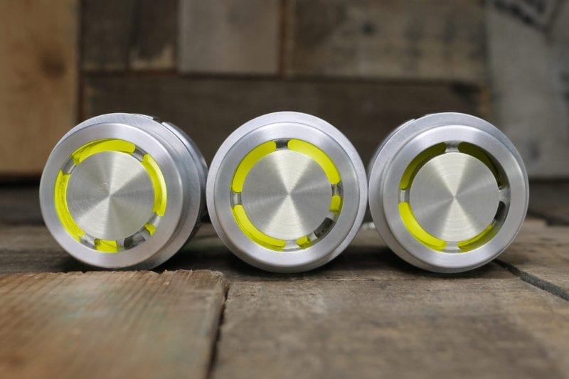 REACTOR PODS YELLOW LED SATIN STRAIGHT