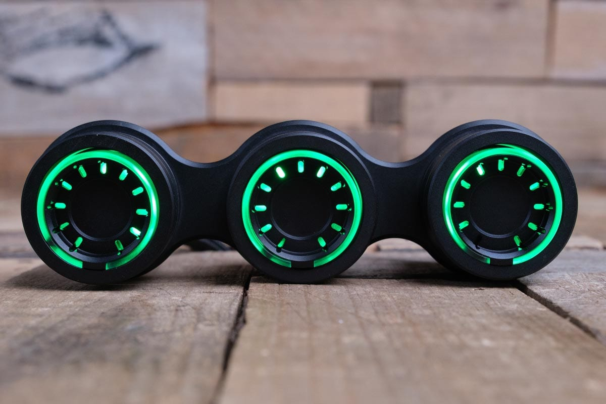 NUK PODS GREEN LED SYNISTER BLACK CENTER RM 16 7009B G
