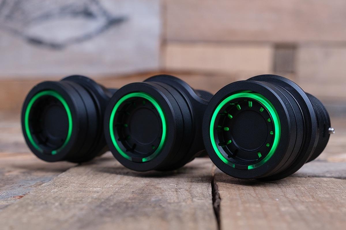 NUK PODS GREEN LED SYNISTER BLACK LEFT RM 16 7009B G