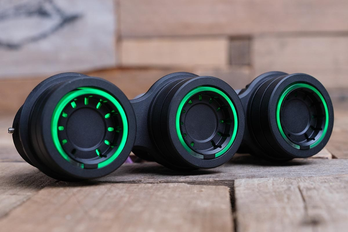 NUK PODS GREEN LED SYNISTER BLACK RIGHT RM 16 7009B G