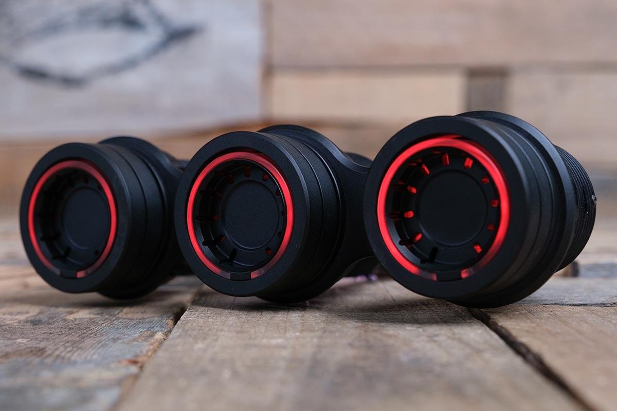 RED LED SYNISTER BLACK LEFT RM 16 7011B R